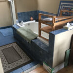 Before - tub
