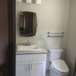 After - vanity and toilet