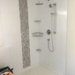 Shower - before glass