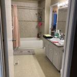 Before - main bathroom